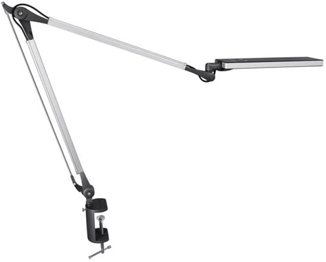 swing arm task l metal architect swing arm led desk l