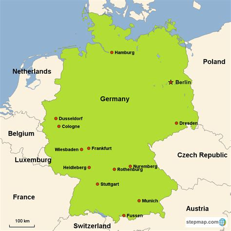 map of germany today germany vacations with airfare trip to germany from go today