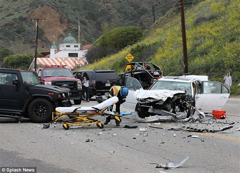 Traffic Accident On Pch - bruce jenner s son brody looks upset at scene of car crash that left woman dead