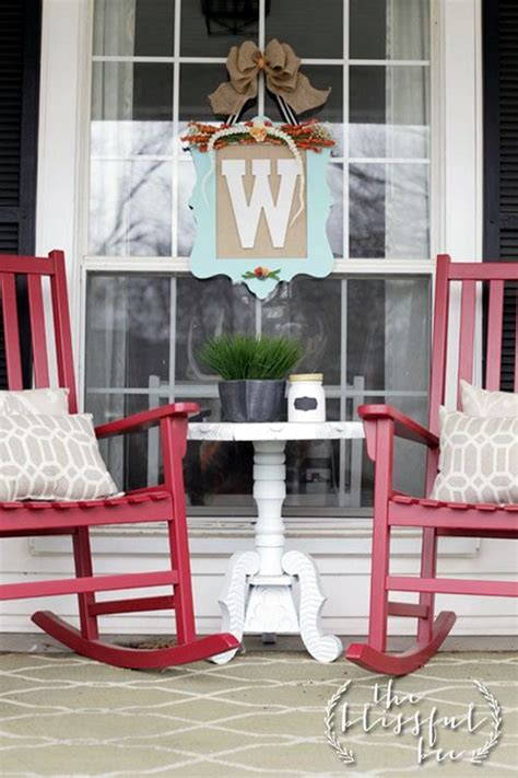 small front porch table and chairs 40 creative monogram wall ideas