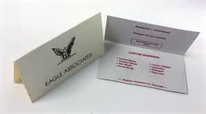 folding business cards folded business card design and printing folded business