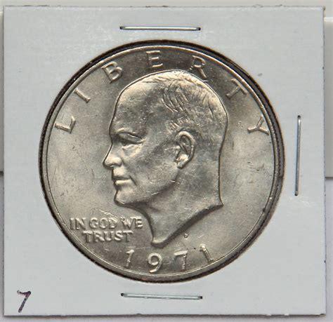 specifications eisenhower silver dollars 1971 d eisenhower dollar coin ike denver ebay
