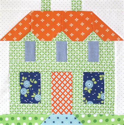 house pattern blocks bee in my bonnet my home sweet home quilt block pattern