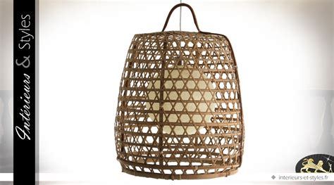 Luminaire Exotique Bambou by Luminaire Suspendu En Bambou De Style Exotique 62 Cm