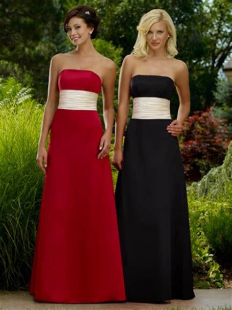 Ideas on Black Bridesmaid Dresses   Cherry Marry