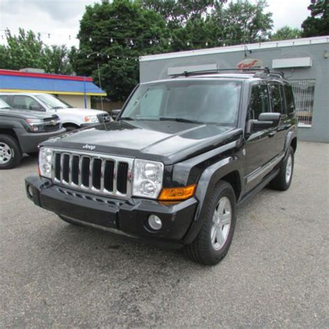 Jeep Commander 4x4 Buy Used 09 Jeep Commander Limited 4x4 5 7 Hemi Loaded