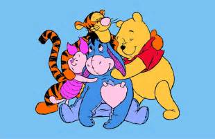 winnie pooh family vector game