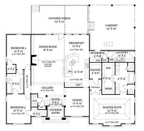 home plans homepw76123 2 365 square feet 3 bedroom 2
