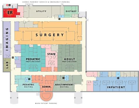 layout hospital hospital floorplan usmd hospital at fort worth