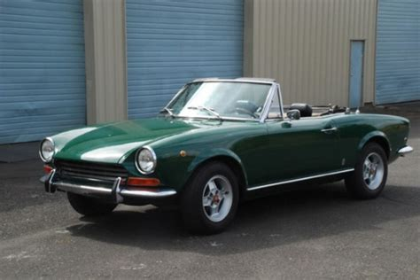 bat exclusive 1969 fiat 124 sport spider bring a trailer