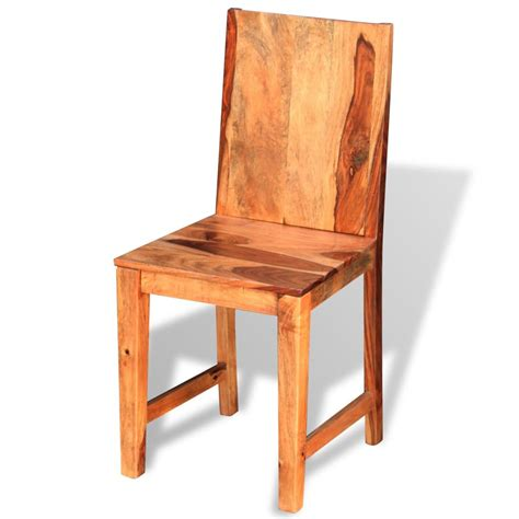 Dining Chairs 4 Vidaxl Dining Chairs 4 Pcs Solid Sheesham Wood Vidaxl Co Uk