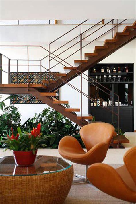 beautiful indoor plants    stairs homemydesign
