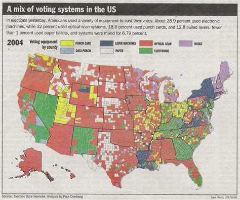 usa states voting map opinions on table of voting systems by nation