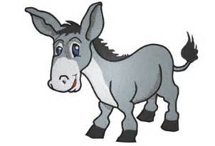 The Blind Burro Cartoon Donkey Clipart Clipart Suggest