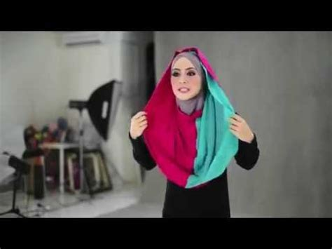 dak teropong studio tutorial shawl by tudung bawal ct 6 shawl tutorial by al humaira contemporary doovi