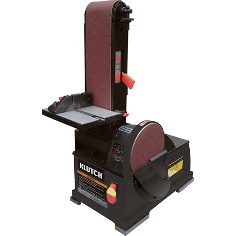 bench top sander product free shipping klutch benchtop belt disc sander