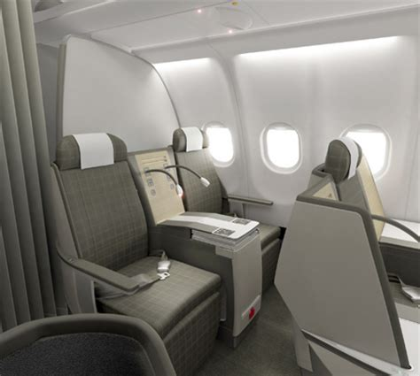 Swiss Airlines Interior by Company Directory Aircraft Interiors International