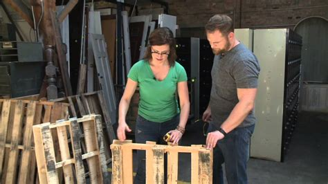 build  pallet bench youtube