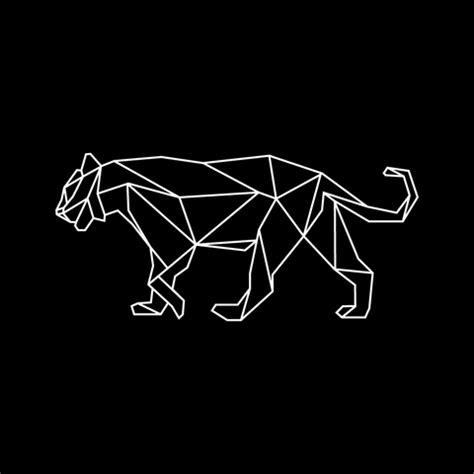 geometric jaguar tattoo geometric tiger wall decal google zoeken washi tape