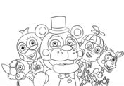 five nights at freddy s coloring book great coloring pages for and adults unofficial edition books five nights at freddy s coloring pages free coloring pages
