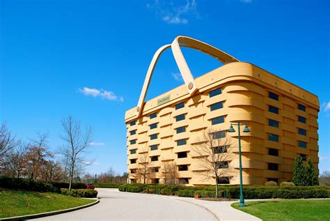 longaberger basket building the longaberger company