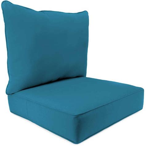 2 seat boxed chair cushion