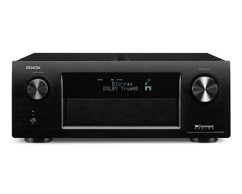 Receiver Multi Hd denon avr x4000p 7 2 ch 4k ultra hd networking receiver w