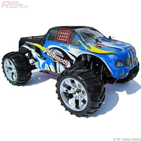 rc nitro monster truck 100 hsp nitro monster truck 15004 aluminum exhaust