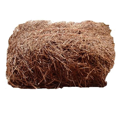3 cu ft pine straw bale psbs10p the home depot