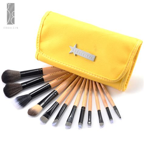 Make Up Brush Set Fraulein 12 Pc Fr 228 Ulein3 176 8 12 Pcs Wooden Brushes Set Cosmetic Make Up