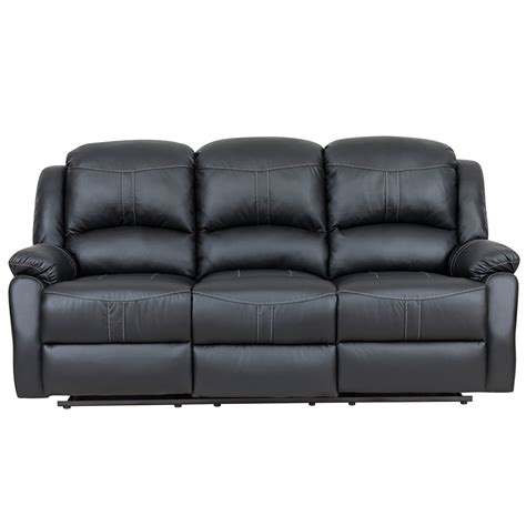 black leather recliner sofa set bonded leather reclining sofa benchcraft by ashley