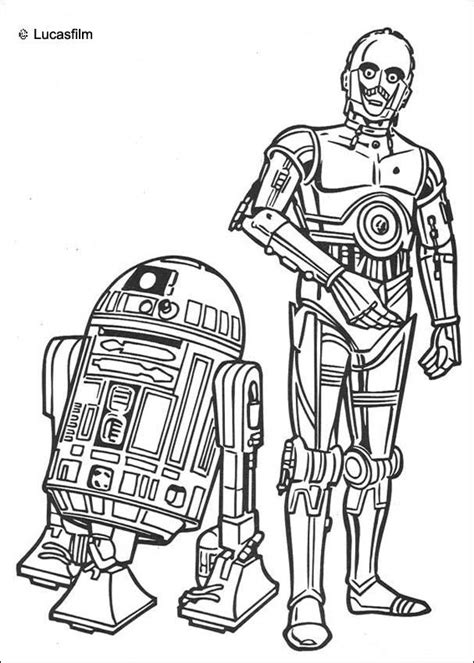 coloring page r2d2 wars coloring pages r2 d2 and c 3po