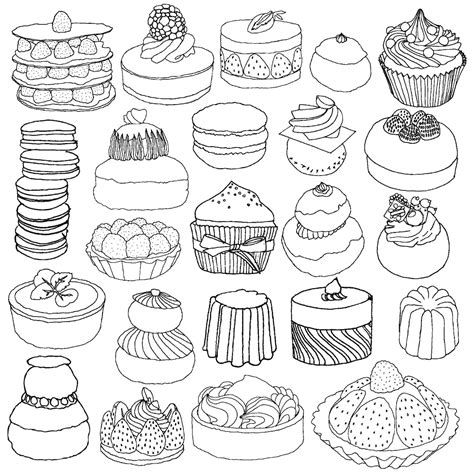 coloring pages for adults food secret paris color your way to calm coloring book