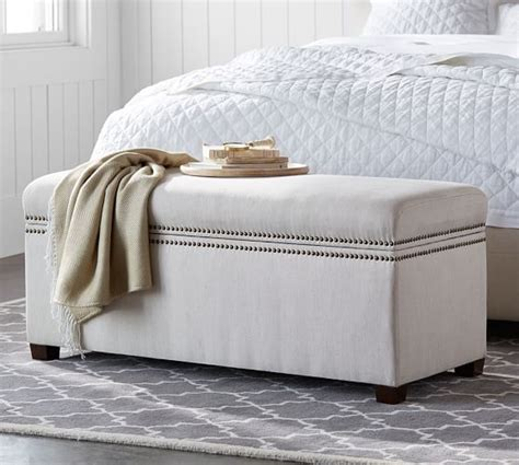 pottery barn storage bench tamsen storage bench pottery barn