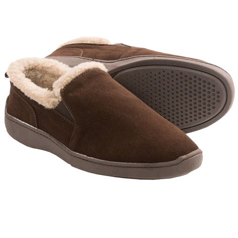 clarks house shoes clarks twin gore suede slippers for men save 71