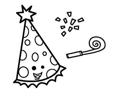 imagenes de fiestas judias para colorear dibujo de sombrero de fiesta para colorear dibujos net