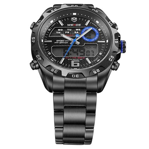 Weide Japan Quartz Stainless Miyota Sports Wh3410 weide japan quartz stainless miyota sports 30m water resistance wh3403 black