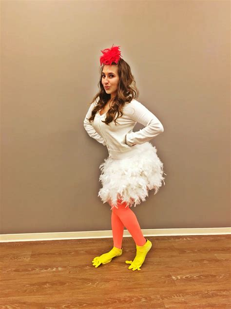 diy costumes chicken costume