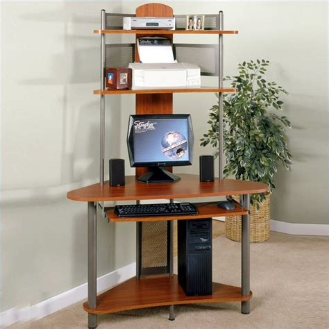 small computer desk with shelves narrow computer desks for small spaces minimalist desk design ideas