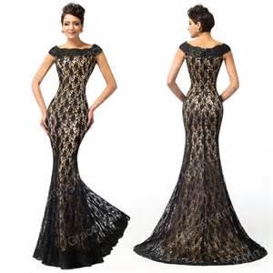 Mermaid evening bridesmaid dresses wedding prom dress gown ebay
