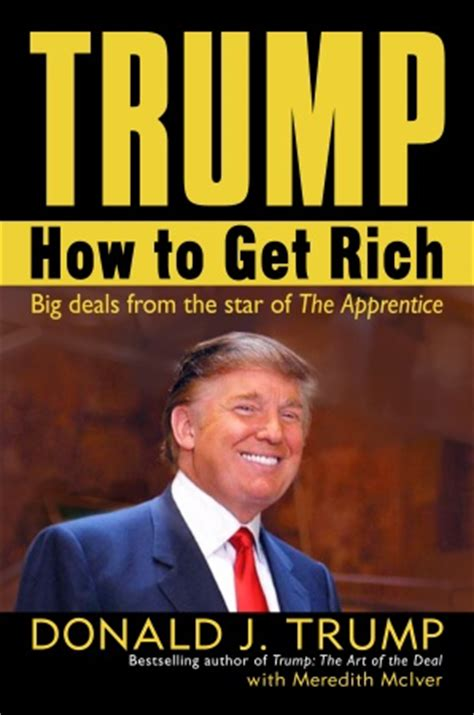 the of donald books donald how to get rich book review