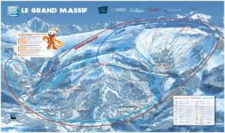 Buy Ski Lift Chair Skiing Holiday Flaine Piste Map Of Flaine Ski Resort For