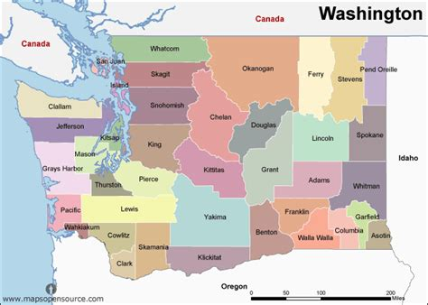 Washington State Name Search Free Washington Map Map Of Washington State Usa Open Source Mapsopensource