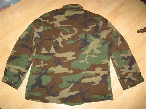 army man pattern combat camouflage jacket usa military soldier woodland