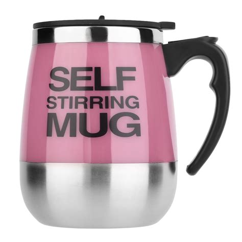 Ripple New Self Stirring Mug Pink 450ml stainless self stirring mug a end 1 20 2019 10 15 am