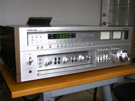 toshiba vintage sa  receiver   side sold
