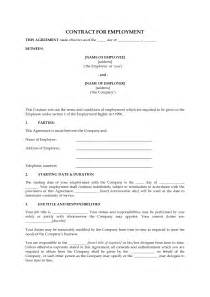 Contract Of Employment Uk Template by Template Employment Contract Uk Http Webdesign14