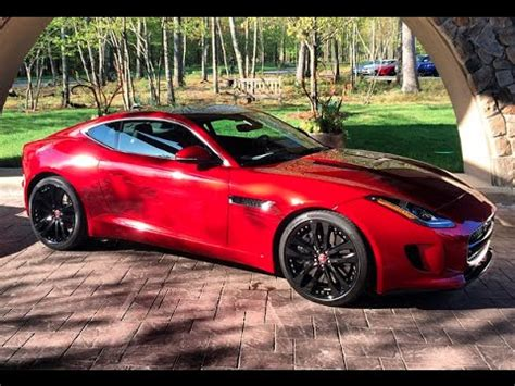 Jaguar F Type Coupe V6s Jaguar F Type Coupe V6s Manual Gearbox One Take