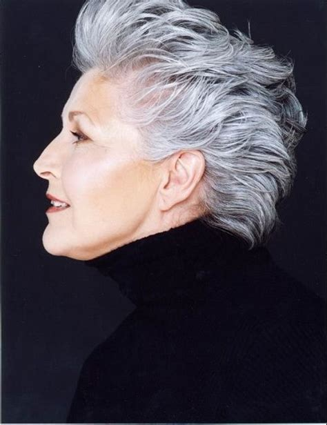 diy haircuts for women 101 best canas corto short gray hair images on pinterest
