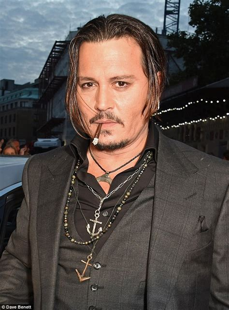why did the rug roll around his heard outshines johnny depp at bfi festival premiere of black mass daily mail